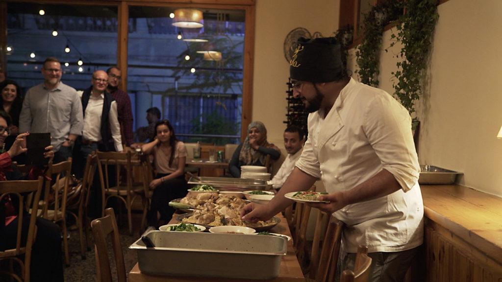 Yemeni chef Taha al-Jalal