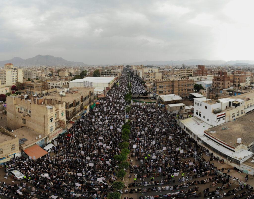 احتفالات عاشوراء في العاصمة اليمنية صنعاء