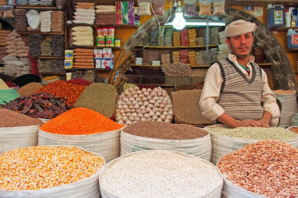 بائع التوابل في صنعاء