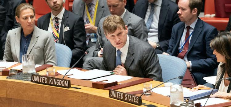 Q&A with Jonathan Allen, UK Chargé d'Affaires to the UN