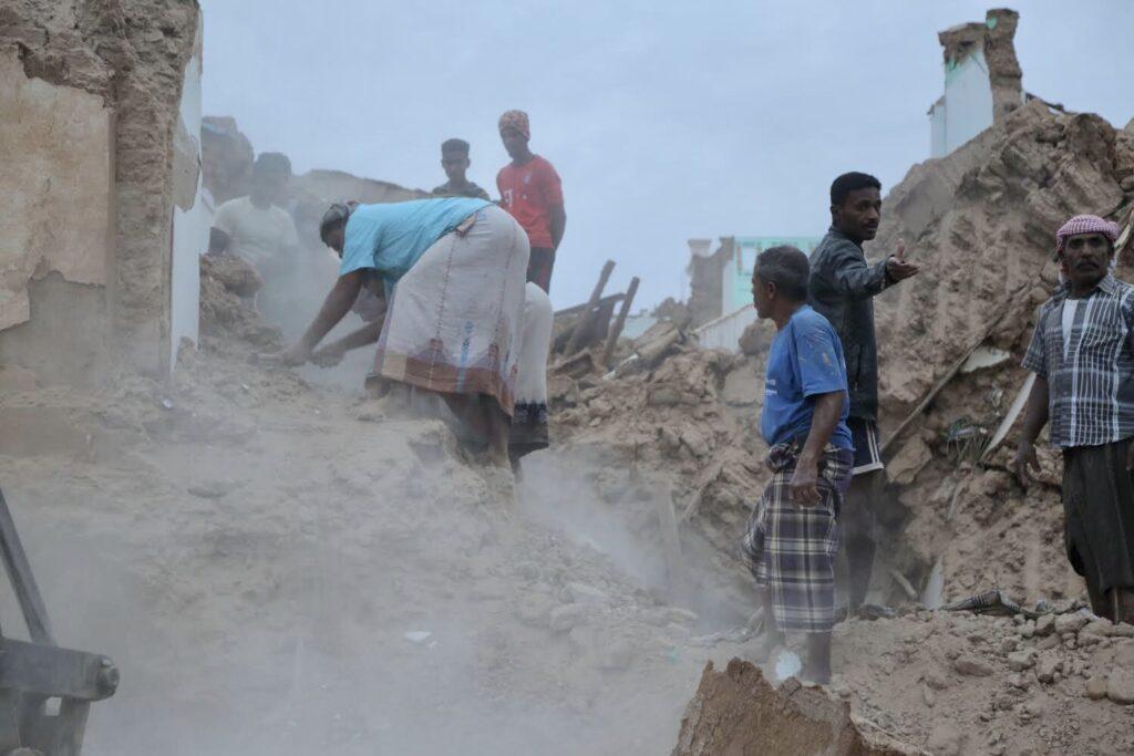 Torrential rains in Sana'a, Yemen